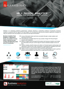 HR Payroll Brochure